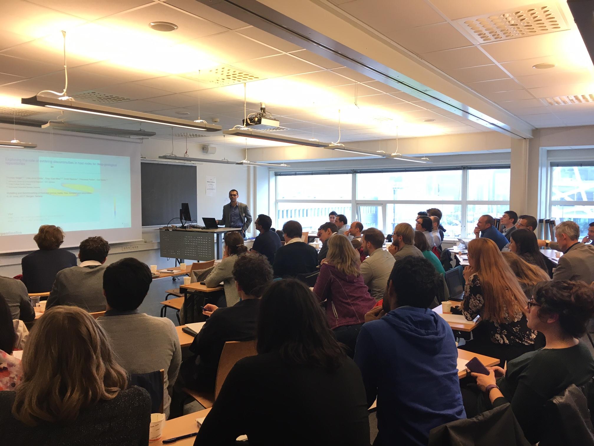 Thomas Nagel's presentation